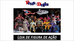Loja de figura de ação - Pens and Dolls
