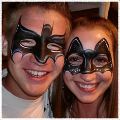 Face Painting Illusions and Balloon Art, LLC: Face Painting Utah Super Hero Parties Face Painting For Boys, Face Painting Designs, Body Painting, Batman Face Paint, Batman And Catwoman, Superhero Party, Woman Face, Face And Body, Illusions