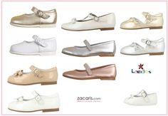 Nos han llegado muchos más modelos de Landos de ceremonia de niña. Zapatos de muy buena calidad y fabricados en España.  Todos son preciosos. Calzado confortable y artesanalmente perfecto.❤ #landos #zacaris #ceremonia #comunión #zapatoscomunión
