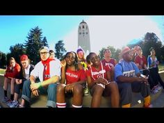 "I love my school! Women's basketball team does a cover of ""Rack City Bitch"" with ""Nerd City Kids"" #stanford #revengeofthenerds #gocard"