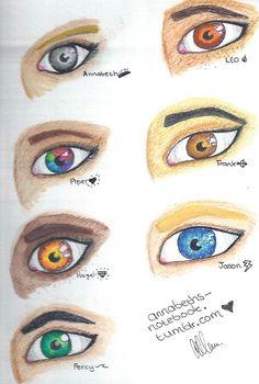 I love Annabeth's eyes. I want them.: