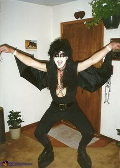 Vote for my costume - thanks! Gene Simmons - 2013 Halloween Costume Contest via @costumeworks
