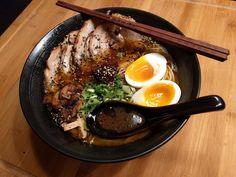 [Homemade] Tonkotsu Ramen With Chashu Pork Belly http://ift.tt/2mokq6v