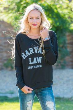Harvard Law Sweatshirt