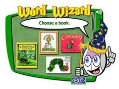 Word Wizard ~ This highly interactive activity supports critical thinking and problem solving while also building students' comprehension and spelling skills. Speech Activities, Interactive Activities, Writing Activities, Reading Comprehension Strategies, Reading Resources, How To Make Bookmarks, English Reading, Create Words, Educational Websites