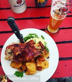 #FragedesTages: #Kölsch oder #Weißbier zur #Haxe? Was wir bevorzugen ist ja wohl klar!? #thisiscologne #lecker#bierdurst #koeln#haxenhaus #picoftheday  @Regrann_App from @lasmeninas_caffiny -  German pork knuckle 德式豬腳!  #schweinshaxe #porkknuckle #travel #germany #köln #beer