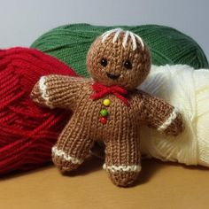 Knit, knit as quick as you can!!!Because you'll be wanting to make lots of these cute little gingerbread men! Pop them in Christmas stockings, or add them to your tree decorations. Find this pattern and more knitting inspiration at LoveKnitting.Com.