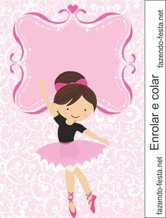 Mini Kit de Ballerina para Imprimir Gratis.
