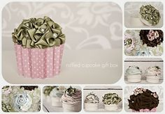 Cupcake Gift Boxes by marian