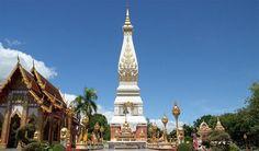 Phra That Phanom ngọn tháp linh thiêng, Vé máy bay đi Lao Vientiane, Luang Prabang giá rẻ .Đại lý Lao Airlines chính thức tại Việt Nam . LH: . LH: Hà Nội:(04)37478953 - HCM:(08)39205999