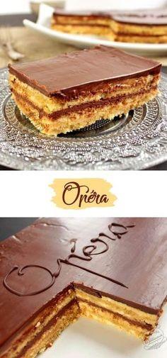 Le gâteau Opéra : un dessert au café et au chocolat avec un biscuit joconde hyper fondant !
