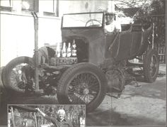 1925 Ford Model T touring car with Rajo head, circa 1950. Car now belongs to Joe Arrieta. From Hop Up, Vol. 3, 2002.