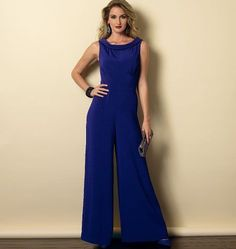 Purchase Butterick 6130 Misses' Dress and Jumpsuit and read its pattern reviews. Find other Jumpsuit sewing patterns.