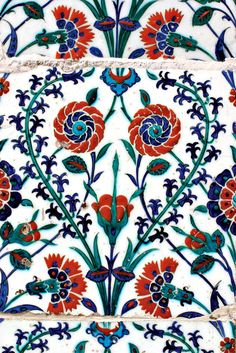 Turkish tile, Eyup Sultan Mosque by Ihsan Gercelman on 500px