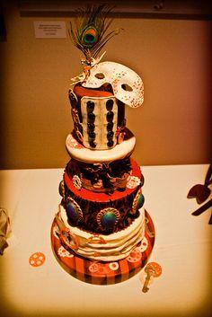 Steampunk venetian cake