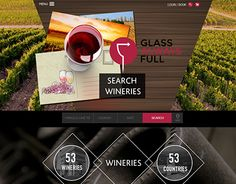 """Check out new work on my @Behance portfolio: """" Wine Country"""" http://on.be.net/1TcvT6B"""