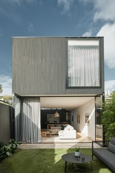 Inside The Albert Park Project - with GlobeWest Exterior Tiles, Exterior Cladding, Diy Blinds, Diy Curtains, Sheer Curtains, Interior Stylist, Interior Design, Globe West, Modern Houses