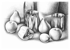 Still Life Pencil Drawing - Learn how to draw
