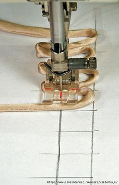 paper guide for sewing button loops-Tailor tricks1530
