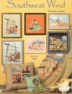 Cross Stitch Book South West Wind by Susan J Heiss Jeanette Crews Designs Inc #JeanetteCrewsDesignsInc #Sampler