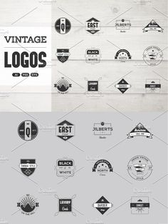 Vintage Logo Pack by Infographic Paradise on @Graphicsauthor