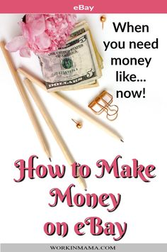 How to Make Money On eBay - Have you been wondering about how to make money from eBay? Or even if it's really possible. Well, I'm here to tell you, it's possible and I've done it myself. Come on in and see.
