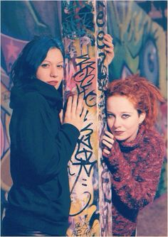Anneke van Giersbergen & Cristina Scabbia. Another lovely person I got to meet, and still not Anneke!!
