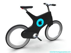 Future Bicycles: Josef Cadek Locust Folding Bicycle | Intelligent Bicycle | iBike from Apple