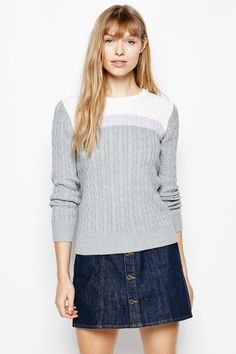 Shop the latest in British styles for Men and Women. Established in Salcombe, Devon, England - the home of Jack Wills. Jack Wills, Pullover, Blouse, Long Sleeve, Sleeves, Sweaters, Cable, Clothes, Tops