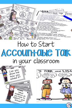 This classroom bundle of question stem cards, posters, and teacher checklist makes it easy to implement accountable talk in your classroom! All of the resources are easily accessible for your students so they have repeated practice in whole group, small groups, and centers. Your students will soon be talking to each other about their learning in meaningful ways. Click here to see more! #accountabletalkstems #elementarygrades #teachingintheheartofflorida #questionstems #accountabletalk Teaching Activities, Teaching Strategies, Teaching Ideas, Health Activities, Instructional Strategies, Classroom Community, Special Education Classroom, Teacher Checklist, Question Stems
