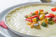#Verduras horneadas sobre una crema de #queso fundido #mascarpone: algo que supera los límites de lo #exquisito y se llama #Provoletta