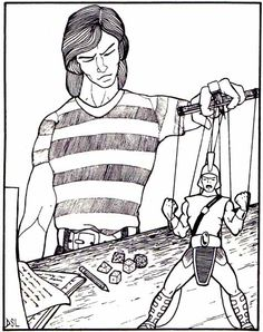 Advanced Dungeons & Dragons Characters Coloring Book (1983