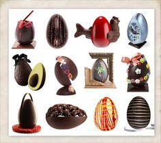 2012 paris designer chocolate easter eggs