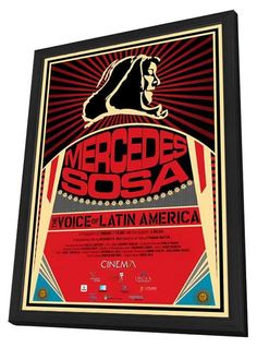 Mercedes Sosa: The Voice of Latin America (Argentine) 27x40 Framed Movie Poster (2014)