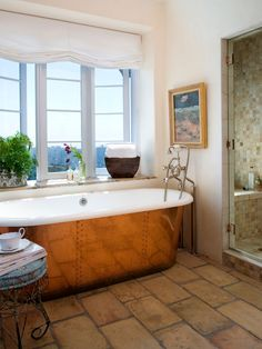Mediterranean Style Bathroom-Griffin & Crane Inc http://www.houzz.com/projects/179953/Project-18