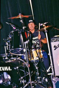 Drums kicked