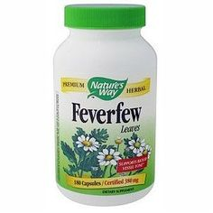 Nature's Way Feverfew - Helps with Headaches