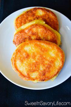 Jamaican Cornmeal Fritters - Sweet n' Savory Life Jamaican Cuisine, Jamaican Dishes, Jamaican Recipes, Jamacian Food, Caribbean Recipes, Caribbean Food, Recetas Salvadorenas, Vegan Recipes, Cooking Recipes