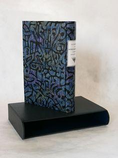 Reliure à la Bradel en plein papier  © Atelier Livrasphère