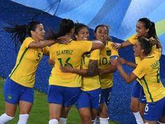 Inspiradíssima, seleção feminina goleia a Suécia por 5 a 1 e garante vaga antecipada nas quartas