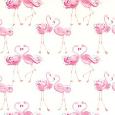 Laura Ashley Pink Flamingo Wallpaper