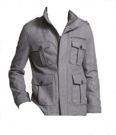Mens Military Wool Coat - Coat Racks