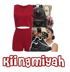 """""""Wine """" by kiingmiyah ❤ liked on Polyvore featuring MCM, MICHAEL Michael Kors and NIKE"""