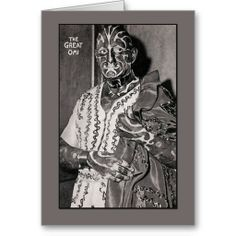 Shop The Great Omi Circus Performer Cards created by CustomizeACard. Thank You Greeting Cards, Thank You Greetings, Custom Greeting Cards, Circus Performers, Special Promotion, Price Drop, Zebra Print, Great Deals, Good Day