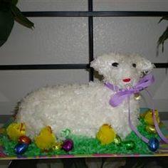 Easter Lamb Cake I Allrecipes.com