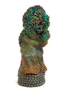 Angelika Arendt clay sculpture
