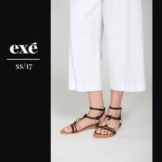 http://www.exeshoes.es/sandalia-marina-loris-927-black.html #scarpedonna #donna #womanshoes #flatshoes #trends #look #outfit #calçados #meninas #mulher #femme #chaussures #springsummer