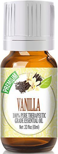 Product review for Vanilla 100% Pure, Best Therapeutic Grade Essential Oil - 10ml  - 100% Pure, Therapeutic Grade Vanilla Essential Oil Botanical Name: Vanilla planifolia  Comes in 10ml amber glass essential oil bottle. European Dropper Cap included. What sets Healing Solutions Essential Oils apart is superior cultivation of ingredients that are the best in the world. Combined...