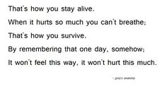 grey's anatomy quotes | Tumblr