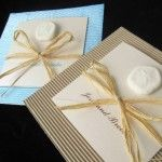Invitaciones para boda con motivos de playa